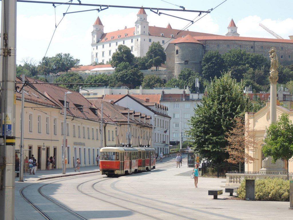 el-castillo-de-Bratislava-Viajohoy-com Qué ver en Bratislava