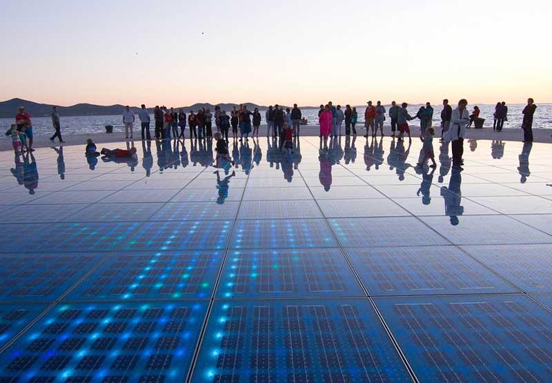 Saludo al sol - Zadar Croacia