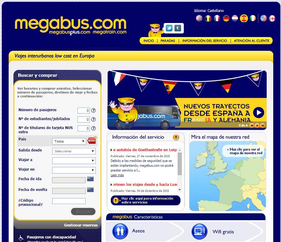 megabus-viajar-europa-barato Viajar low cost por Europa, desde 1 euro con Megabus