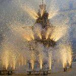 Explosivos festejos de Semana Santa en Florencia