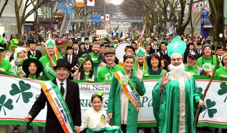 Fiesta de San Patricio en Ise – Japón