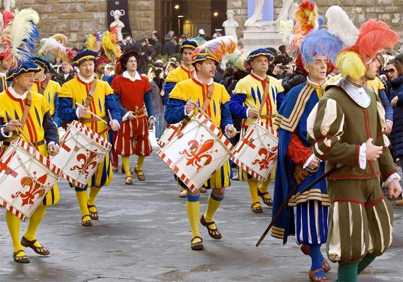 semana-santa-florencia-2 Explosivos festejos de Semana Santa en Florencia