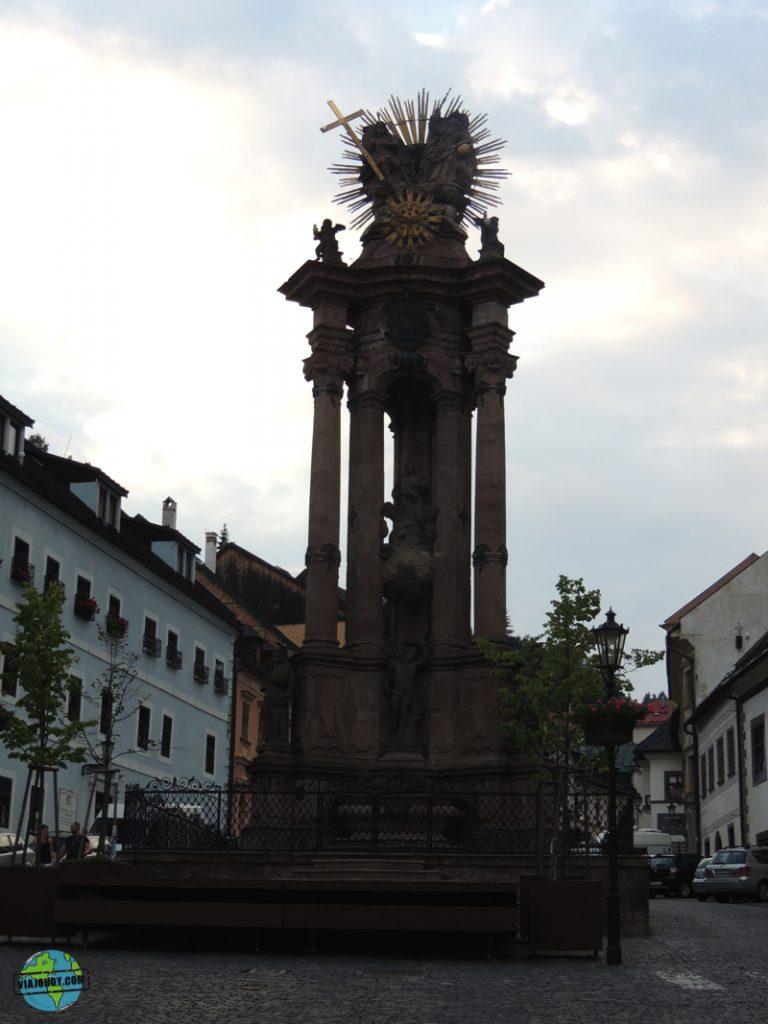 Banska-Stiavnica-Plaza de la Santa Trinidad Banská Štiavnica – Que ver en Eslovaquia