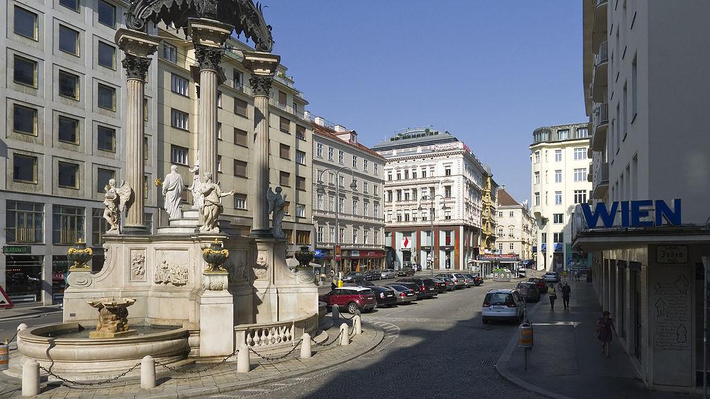 Hoher Markt 1 Hoher Markt: una plaza con historia