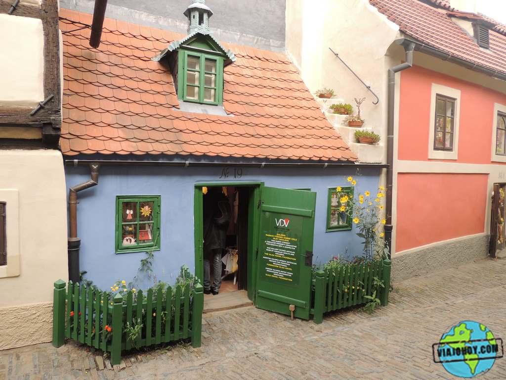 golden-lane(viajohoy)13 El Callejón de Oro – descubre Praga
