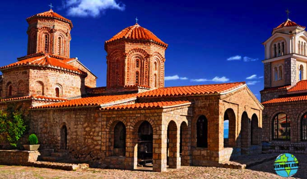 monasterio-de-Saint-Naum-viajo-hoy6 El monasterio Saint Naum en imágenes