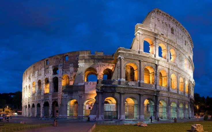 Coliseo Romano Los mejores sitios para visitar en Italia