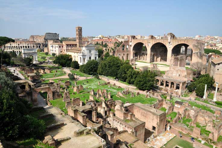 foro-romano Notas previas de un Viaje a Roma