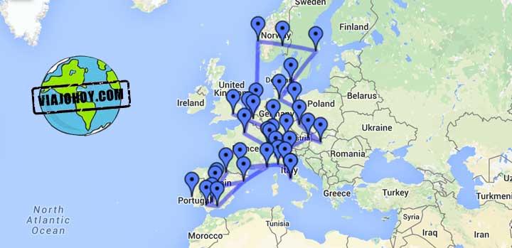 google-mymaps-viajohoy-com No volverás a perder ningún punto turístico gracias a Google My Maps