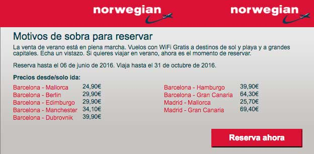 norwegian-ofertas