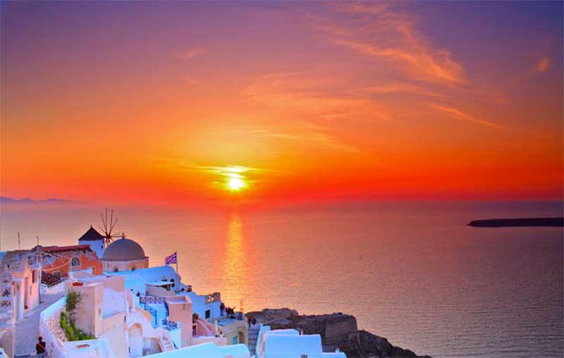 romántica-santorini Los destinos más románticos de Europa
