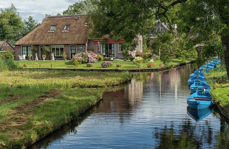 Aldea-Giethoorn-holanda3 Aldea Giethoorn en Holanda – Venecia del Norte