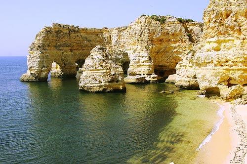 Playa-de-Marinha-visita-portugal Playa de Marinha Arquitectura Natural Visita Portugal