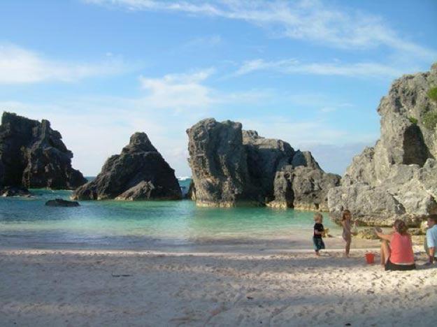 bahía-Horseshoe-islas-bermudas3 La Bahia de Horseshoe en las Islas  Bermudas