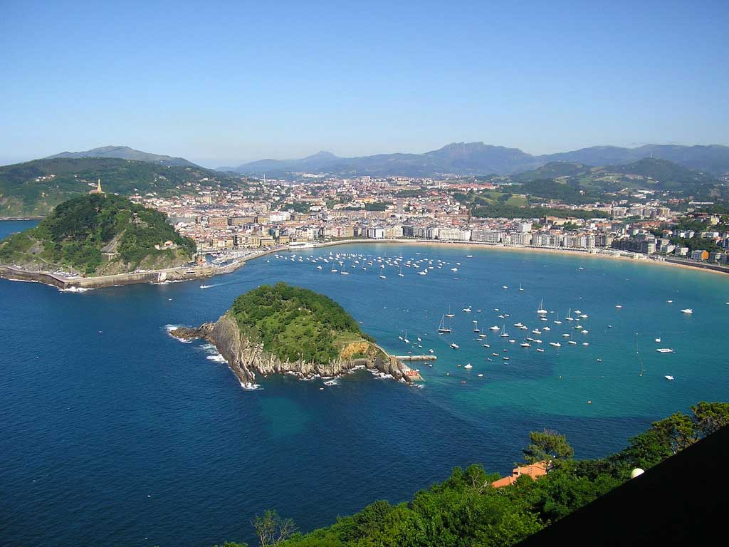 san-sebastian1 San Sebastián durante el verano – Disfruta España