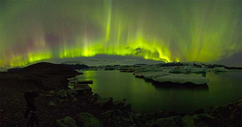 aurora-boreal-islandia Auroras boreales, el sueño de todo viajero