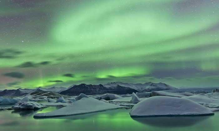 aurora-boreal-islandia2 Auroras boreales, el sueño de todo viajero