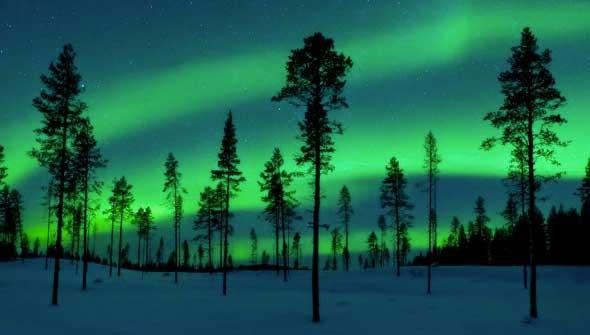 aurora-boreal-suecia Auroras boreales, el sueño de todo viajero