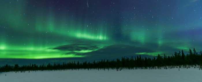aurora-boreal-suecia2 Auroras boreales, el sueño de todo viajero