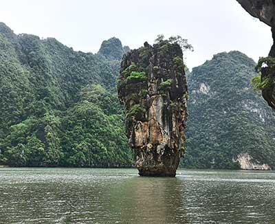 Foto actual 2016 Isla Bond Excursión a la James Bond Island desde Krabi (Ao Nang)