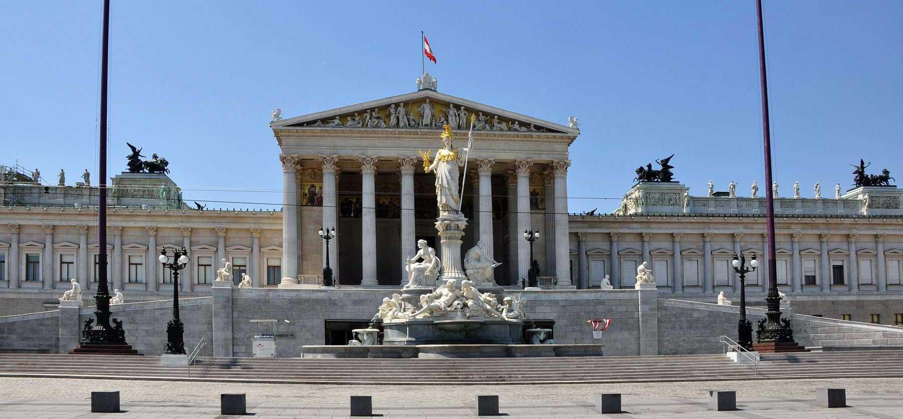 parlamento-viena El Parlamento: la Austria griega