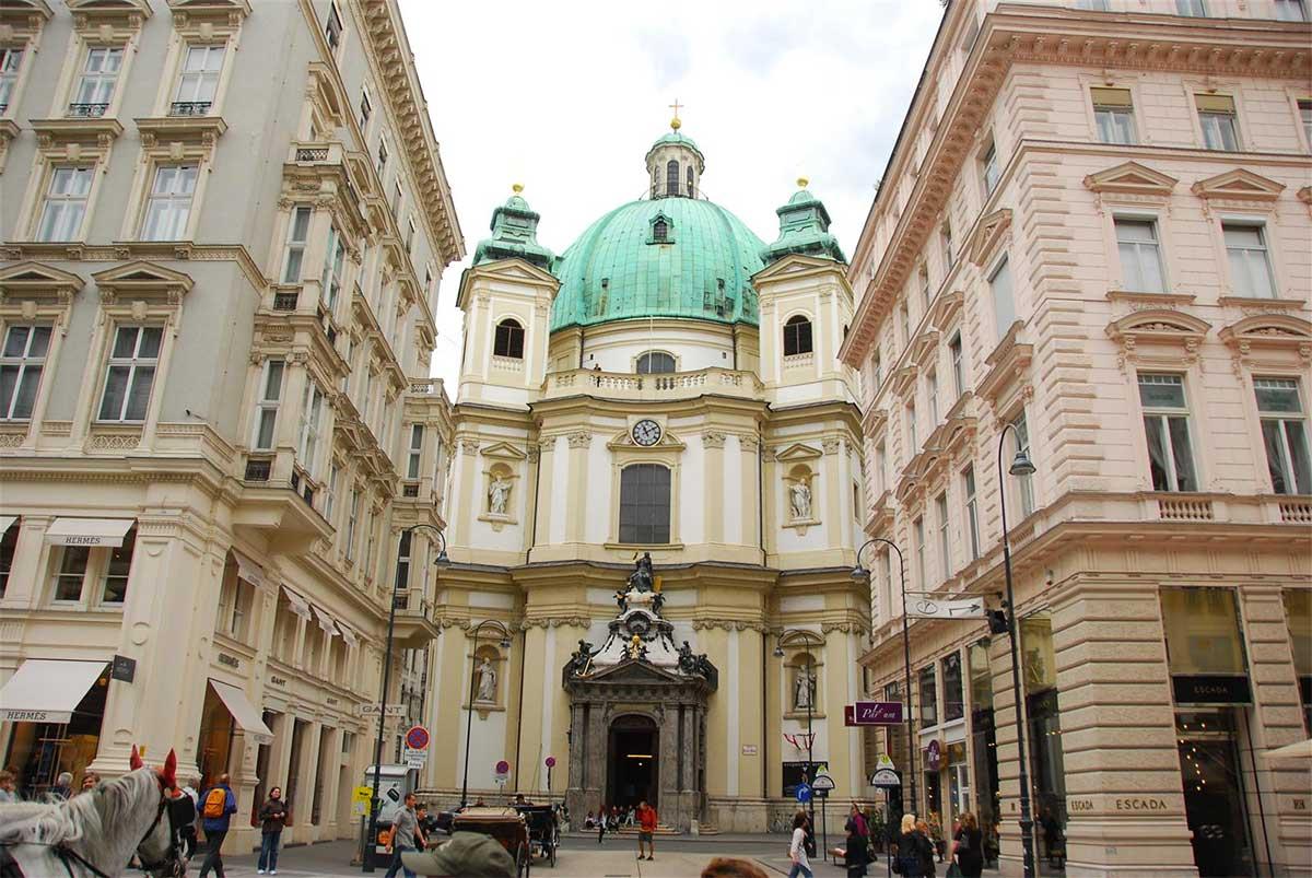 Peterskirche: la iglesia barroca