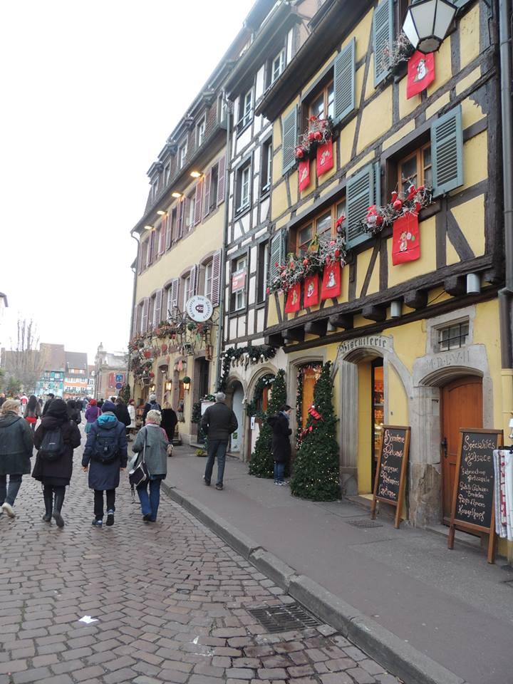 colmar Festejos de Navidad en Colmar – Alsacia.