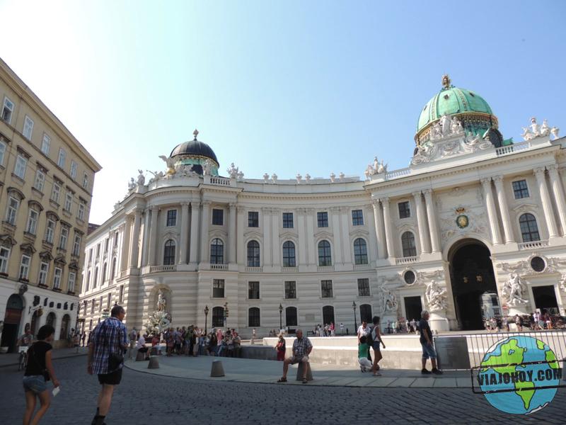 Palacio de Hofburg Visitar Viena en tres días