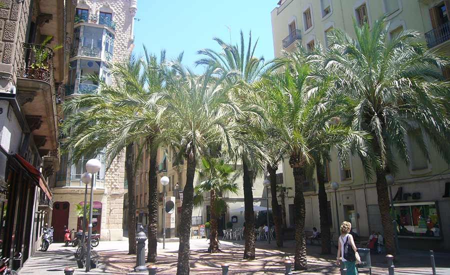 Barrio de Gracia - Barcelona Lugares especiales para alojarse en Barcelona