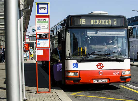 Como llegar a Praga desde el aeropuerto, en tren, etc
