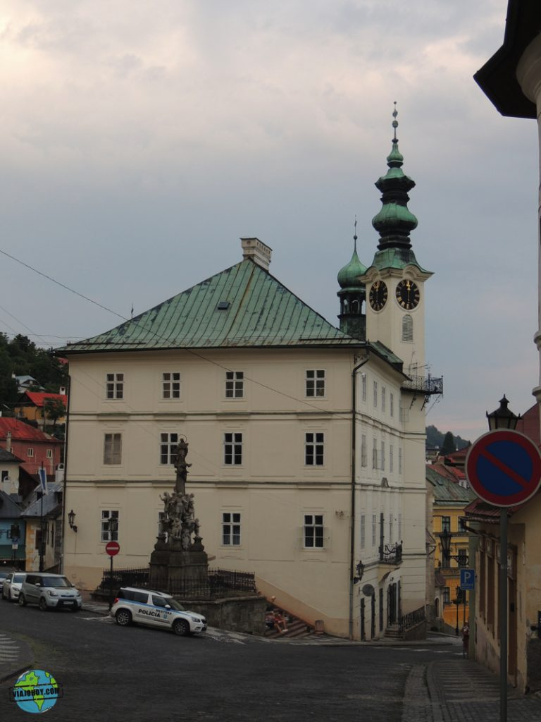 Ayuntamiento Banska Stiavnica Eslovaquia viajohoy