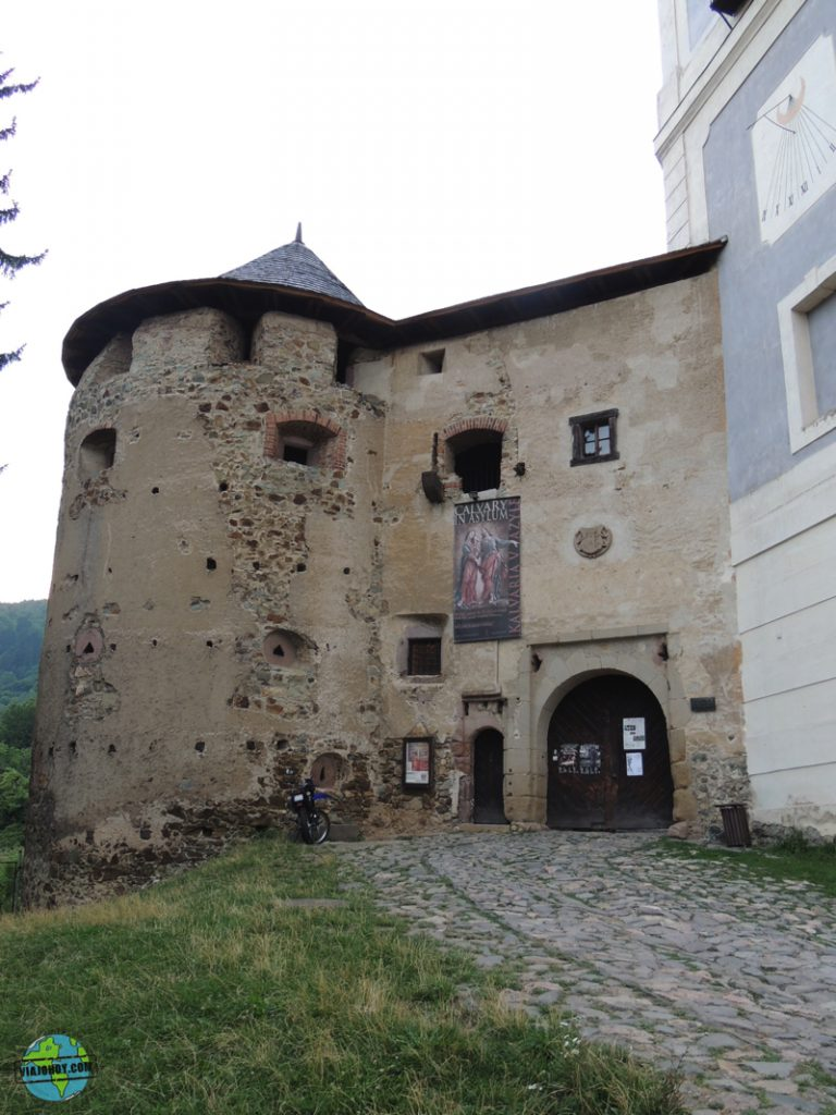 Banska-Stiavnica- castillo antiguo