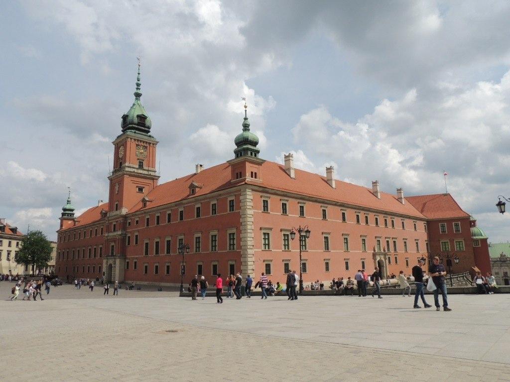 Torre del Reloj Castillo Real Varsovia