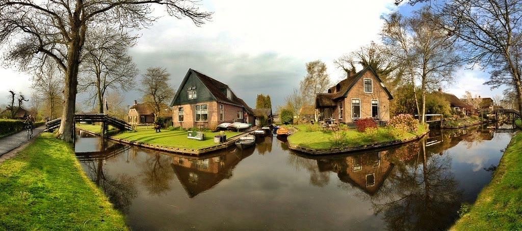 Aldea-Giethoorn-holanda
