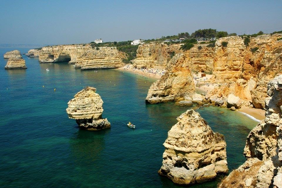 Playa-de-Marinha-visita-portugal3