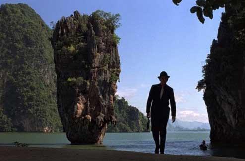 Foto de la pelicula de 007 año 1974 - Tailandia