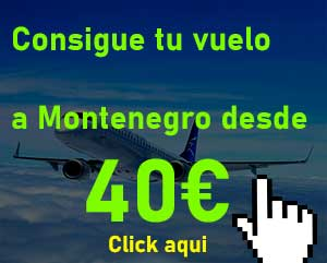 vuelo barato a montengro